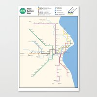 Milwaukee Transit System… Canvas Print