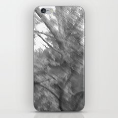 Treeage I - BW iPhone & iPod Skin