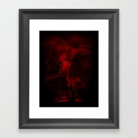 The Unexpected Guest Framed Art Print