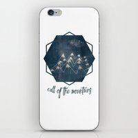 call of the mountains iPhone & iPod Skin