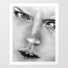 + NO LOVE ALLOWED + Art Print