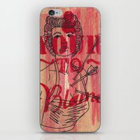 Shot Through The Heart..… iPhone & iPod Skin