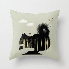 Squirrel Hill Throw Pillow