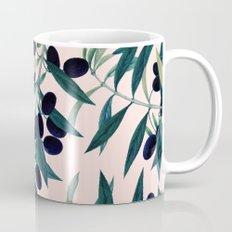 Olive Branch Pattern #society6 #decor #buyart Mug