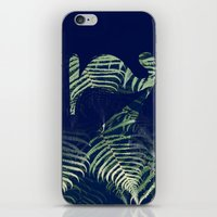 lucky Seven fade FERN iPhone & iPod Skin