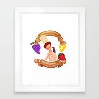 linguini Framed Art Print