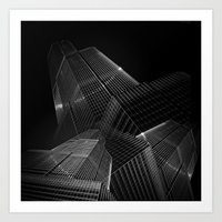 The Black Building Theor… Art Print