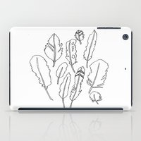 feather friends iPad Case