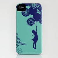 iPhone 4s & iPhone 4 Cases featuring Fly by Azulblau
