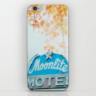 Meet Me At The Moonlite iPhone & iPod Skin