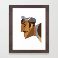 Maino Color Framed Art Print