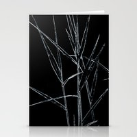 Water Reed Digital Art  Stationery Cards