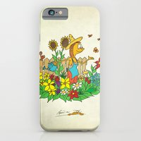 In the Garden iPhone 6 Slim Case