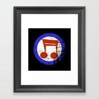 Music Mod Framed Art Print