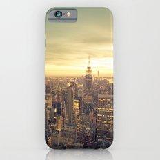 New York Skyline Cityscape Slim Case iPhone 6s