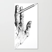 2 tools Canvas Print