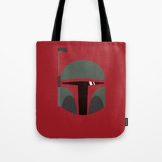 Star Wars Minimalism - Boba Fett Tote Bag