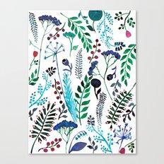 Plant pattern Canvas Print