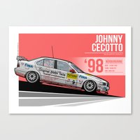 Johnny Cecotto - 1998 Nürburgring Canvas Print