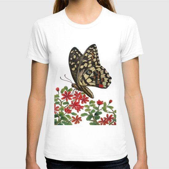 Chequered swallowtail  T-shirt