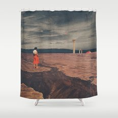 Across The History Shower Curtain