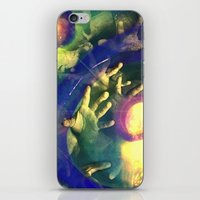 Reach Out And Touch Faith iPhone & iPod Skin