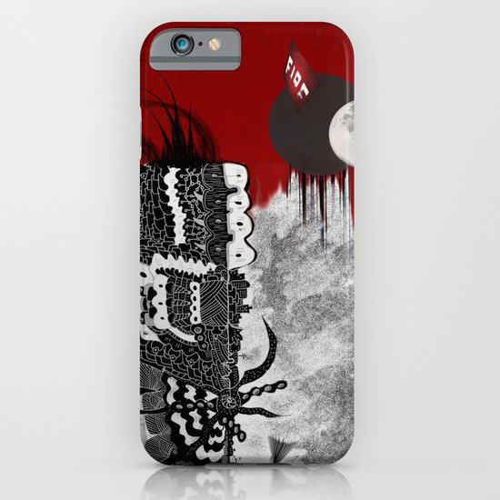 Man on fire iPhone & iPod Case