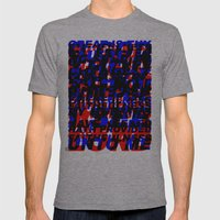 GREAT IS THY FAITHFULNESS - ABSTRACT (Old Hymn) Mens Fitted Tee Athletic Grey SMALL