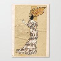 Ignes, The Human Volcano Canvas Print