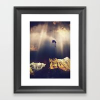 Time To Go Framed Art Print