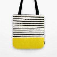 Sunshine X Stripes Tote Bag