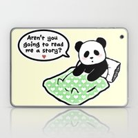 Read panda a story Laptop & iPad Skin