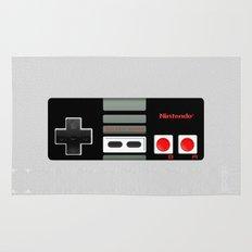 Classic retro Nintendo game controller iPhone 4 4s 5 5c, ipod, ipad, tshirt, mugs and pillow case Rug