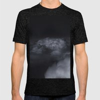 Silver Lining  Mens Fitted Tee Tri-Black SMALL