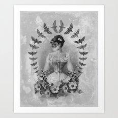 Dueña Polilla Art Print
