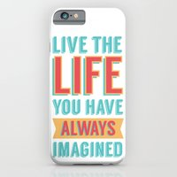 iPhone & iPod Case featuring LIVE LIFE by ItsJessica