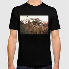 Queens SMALL Black Mens Fitted Tee