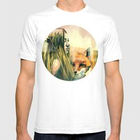 V! Mens Fitted Tee White SMALL