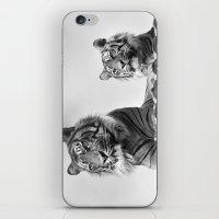 Tigers two iPhone & iPod Skin