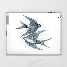Two Swallows Laptop & iPad Skin