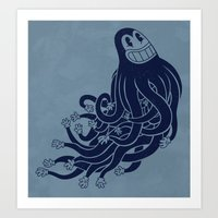 Octadecapus Art Print