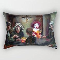 The McChips Eaters (Van Gogh) Rectangular Pillow