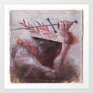 Aequitas Equitas Art Print