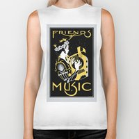 Friends of Music Biker Tank