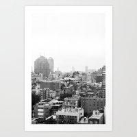 Lower East Side Skyline … Art Print