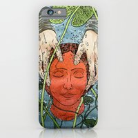 iPhone & iPod Case featuring Death Mask by Chris Carfolite