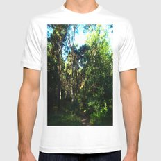 Magical Forest Mens Fitted Tee SMALL White