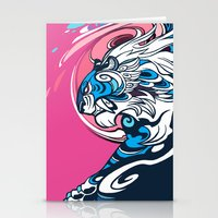 Whirlwind Tiger Stationery Cards