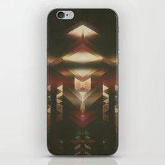 Particle Glow iPhone & iPod Skin