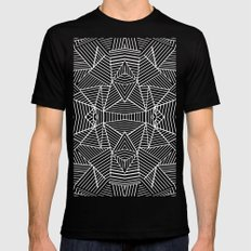 Ab Extreme SMALL Mens Fitted Tee Black